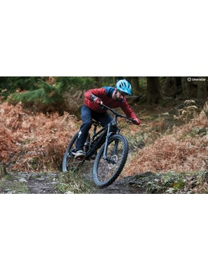 Tech chief Rob tests Calibre's weighty enduro bike, the Sentry
