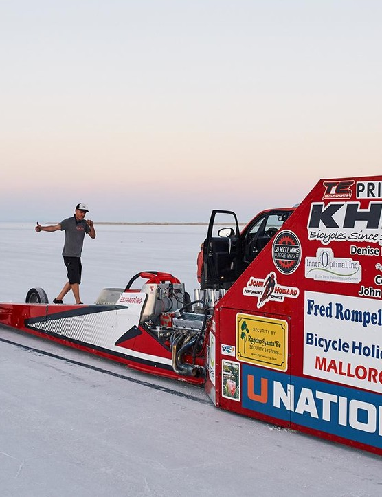 A look at the 1,000 horsepower drag racer and converted fairing