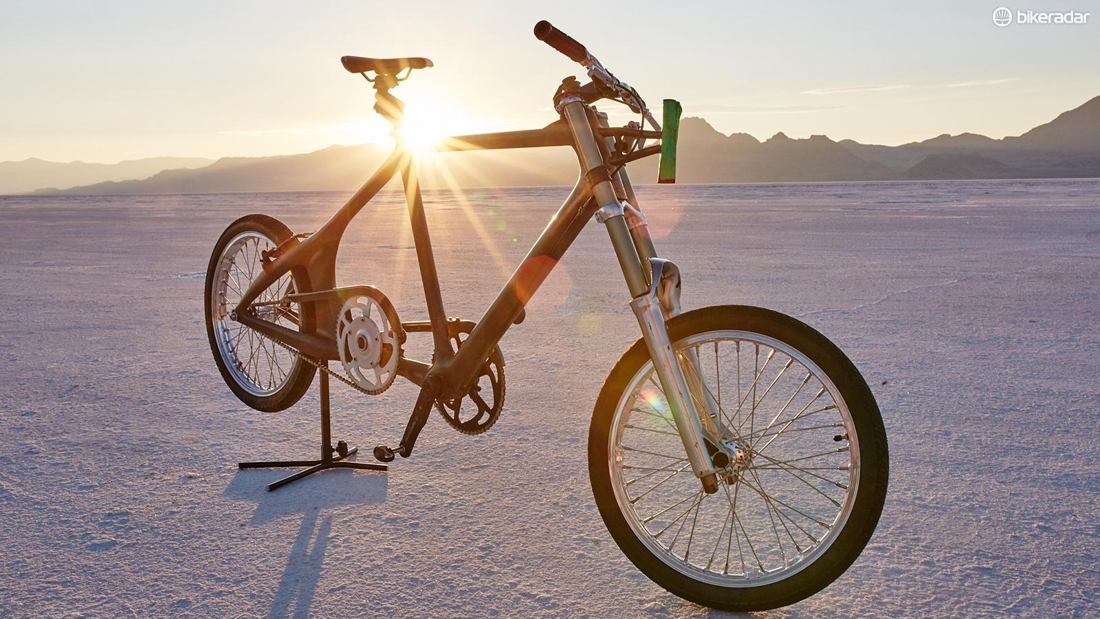 Mueller-Koronek's custom KHS bicycle