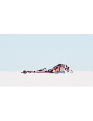 Mueller-Koronek while racing