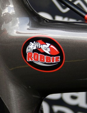 Rocket Robbie is now ready to race.