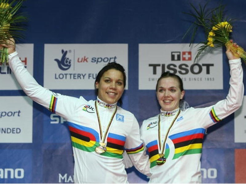 Shanaze Reade and Victoria Pendleton have added to Britain's medal tally