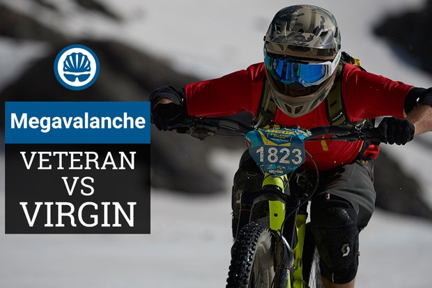 Megavalanche noob Alex Evans joined veteran competitor Ed Thomsett for this year's event