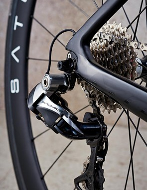 Shimano's electronic Dura-Ace Di2 was its usual faultless self