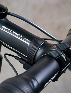 The Ritchey cockpit proved to be stiff and ergonomic