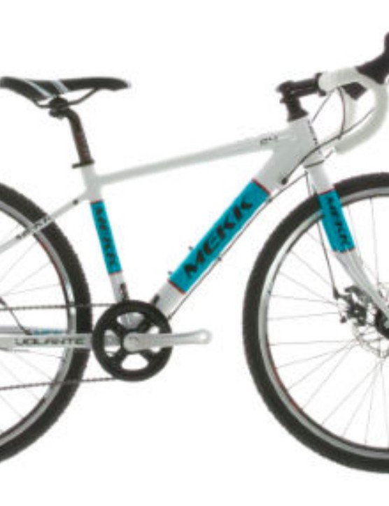 Get the kids gravel grinding with this youth gravel bike from Meek