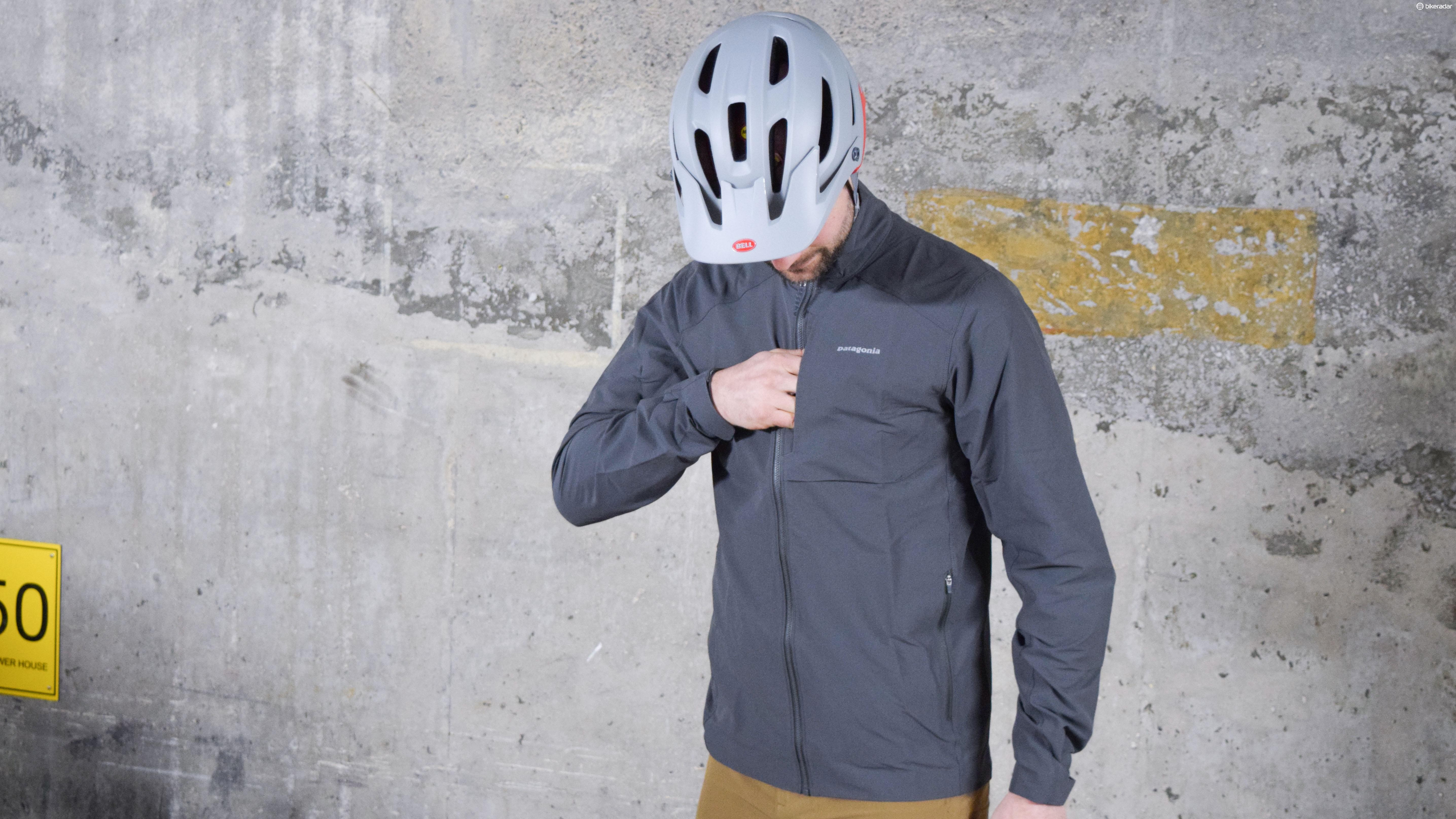 Patagonia's Dirt Craft jacket is well fitted and looks understated