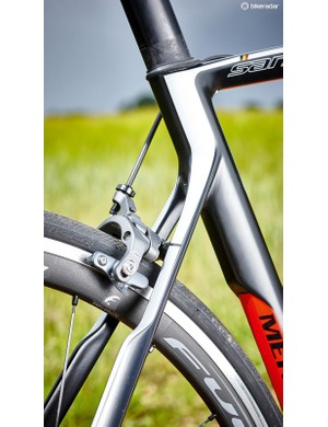 The frame is firm to maximise power delivery so one to avoid if planning to hit the cobbles