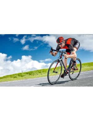 Not one for weight watchers, but a great choice for flat-out, flat road speed
