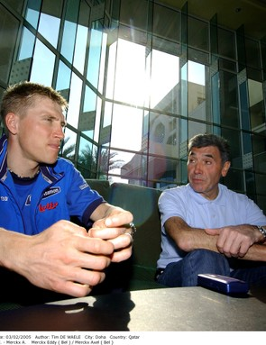 The Merckx men interviewed by Procycling in 2005.