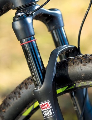 RockShox's Sid WC takes care of suspension duties