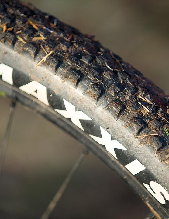 Skinny Maxxis Ikon tyres are too thin for real-world riding