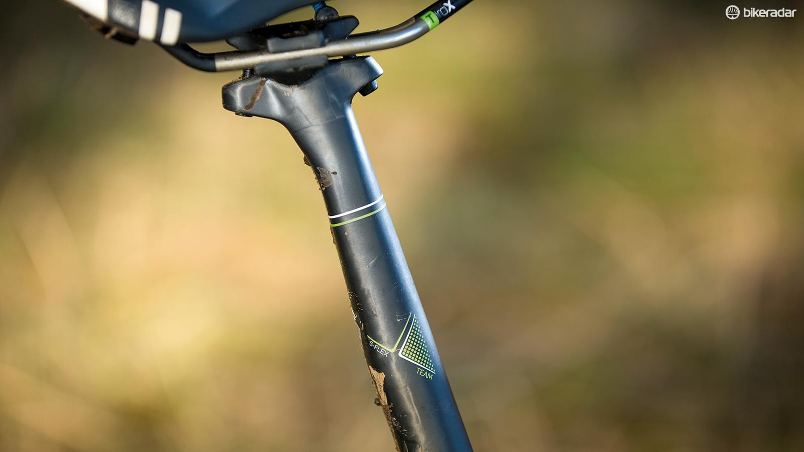 Fitting a dropper post will raise its descending prowess