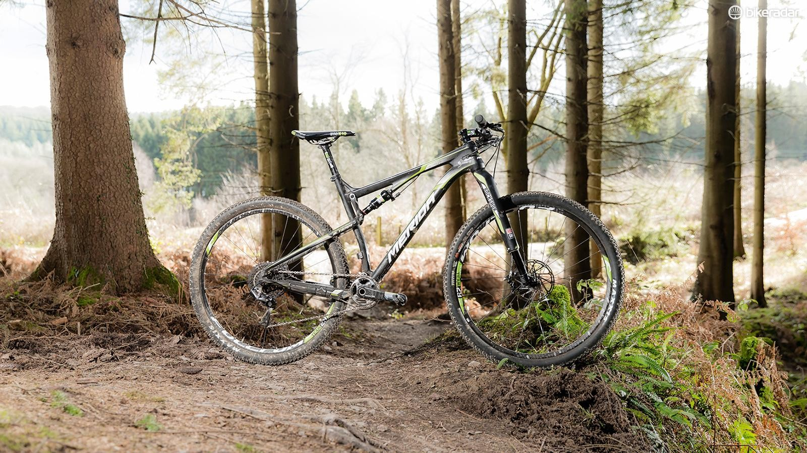 With World Champs podium pedigree, the Ninety-Six is one flat-out fast XC ride