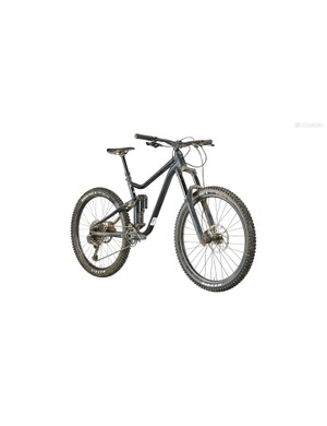 Merida's One-Sixty is a beast when pointed down steep, rocky terrain, but can feel somewhat sluggish on flatter trails