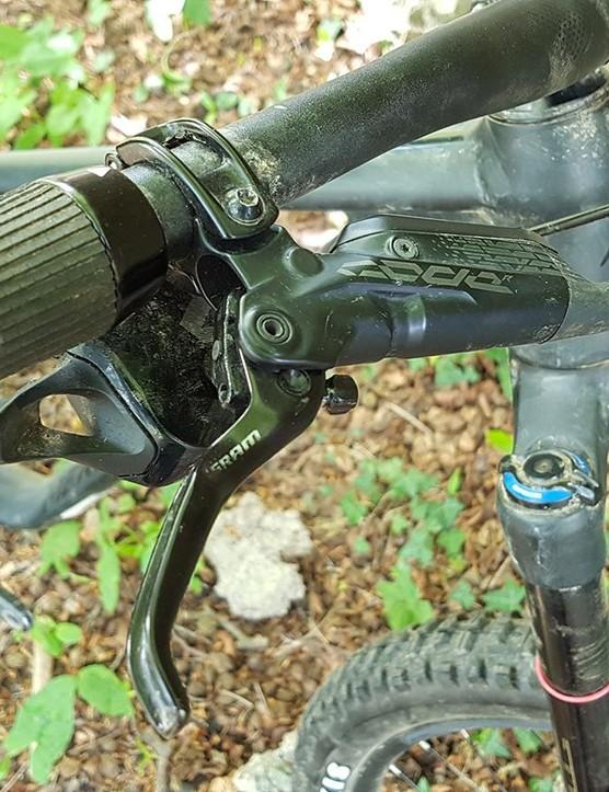 SRAM's Code R brakes offer bucketloads of power