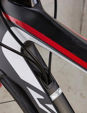 Cable routing forces things wide to avoid damaging the finish