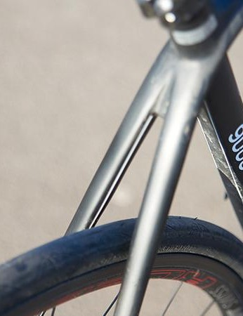 The seatstays are freed from braking duties so their design can focus on comfort