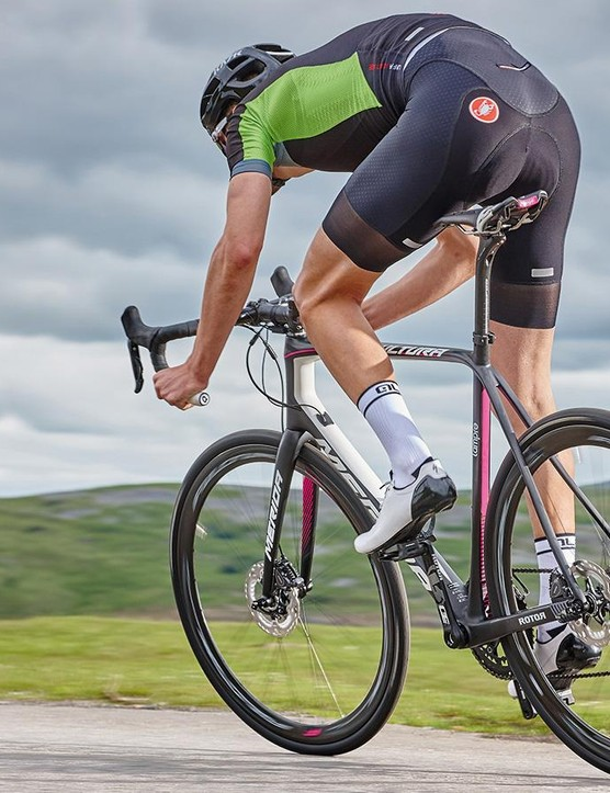 The Scultura is full of zing through twists and turns, rewarding 'enthusiastic' riding