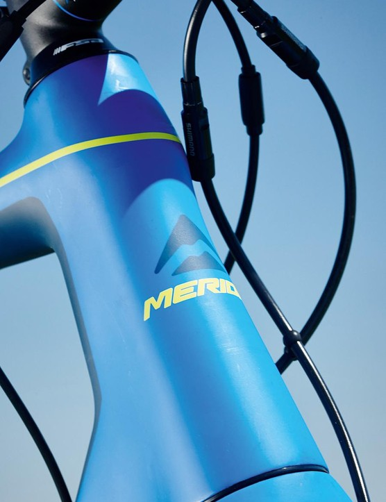 Despite my initial concerns over the Merida's shorter head tube I was still impressed by the details
