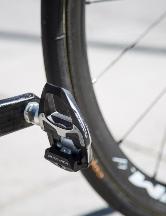 Shimano Dura-Ace pedals for the new WorldTour team