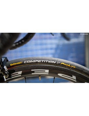 25mm tyres are the general consensus in the peloton