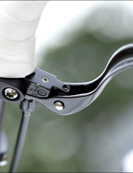 auxiliary brake levers – these were first seen on cyclocross bikes where they enabled the rider to keep their hands on the handlebar tops over rough ground