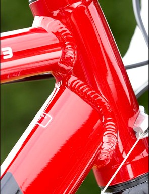 Frame is very neatly welded and finished to a high standard