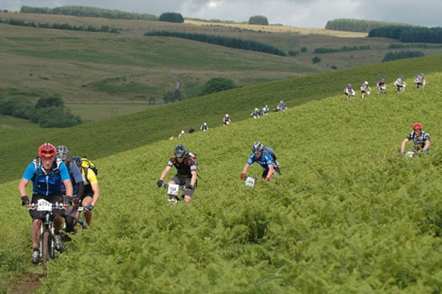 Many riders caught a mystery bug at the Merida Marathon round in Builth Wells