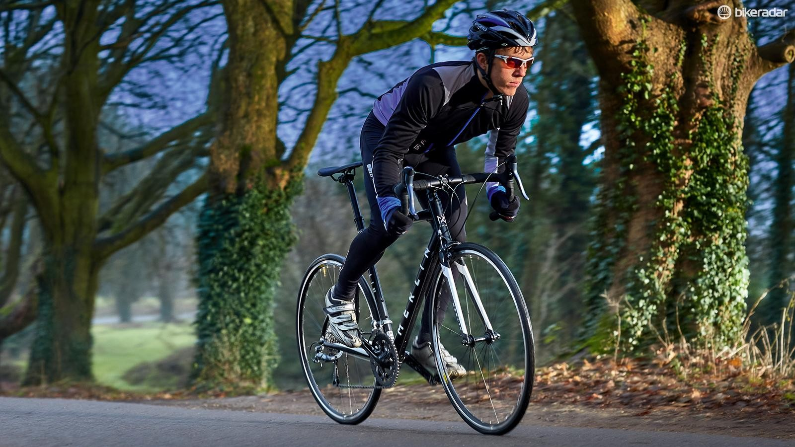 Merlin's choice of saddle and bar tape was first rate for a bike at this price