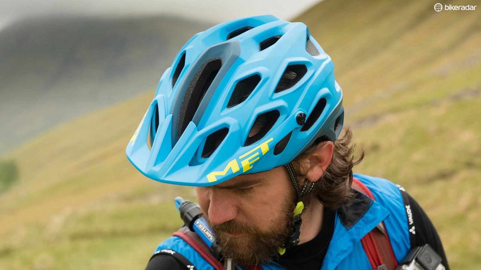 Were it not for its annoyingly unreliable fasteners, MET's Lupo helmet would have been a high scorer
