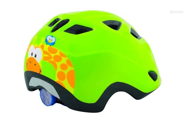 Specifically designed for the needs of kids is the MET Elfo helmet