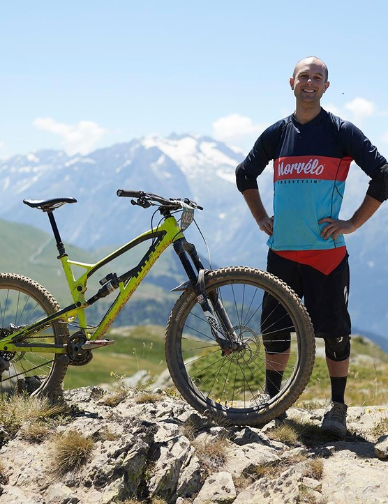 MBUK features editor Alex and his chosen horse the Nukeproof Mega 275