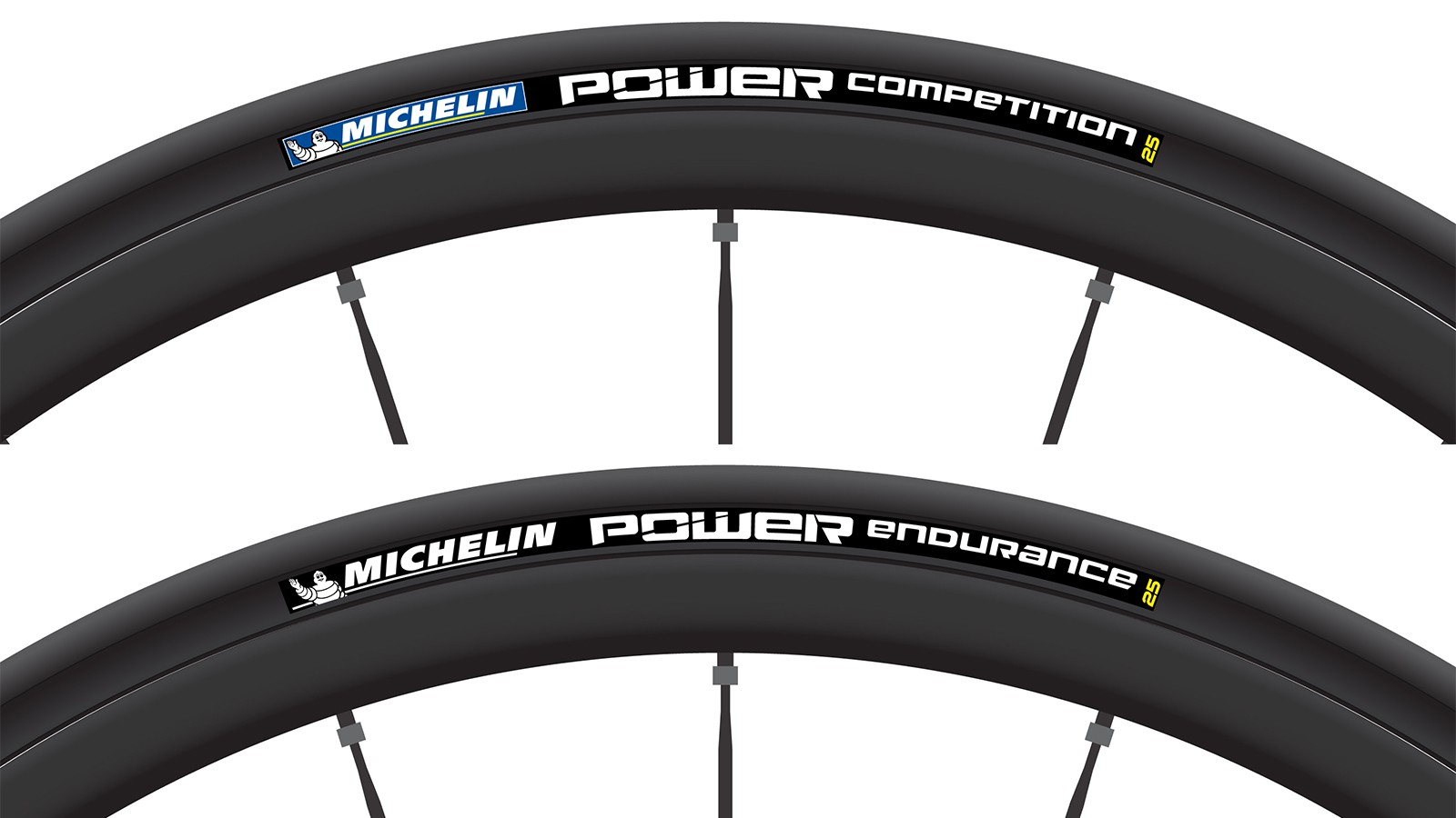 Michelin claims its new Power line is faster and stronger than previous tires