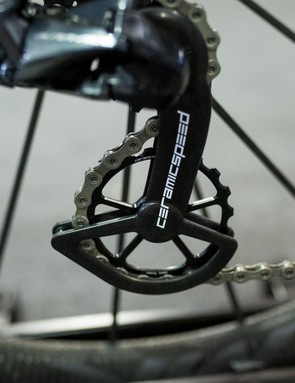 CeramicSpeed's OSPW system claims to reduce friction, improve power transfer and have greater longevity than standard products