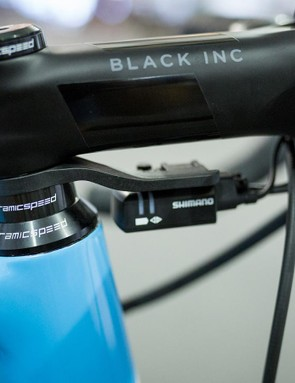 As well as the OSPW derailleur system, CeramicSpeed provides the headset and bottom-bracket bearings for the team