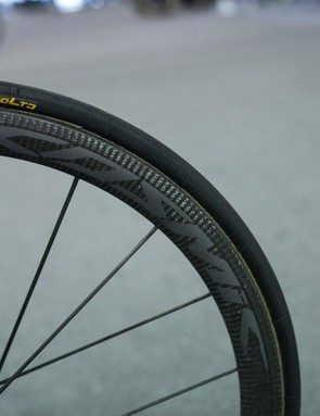 The French component trend continues with Mavic's Cosmic Ultimate carbon wheels