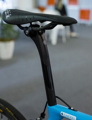 A look at the Black Inc carbon seatpost