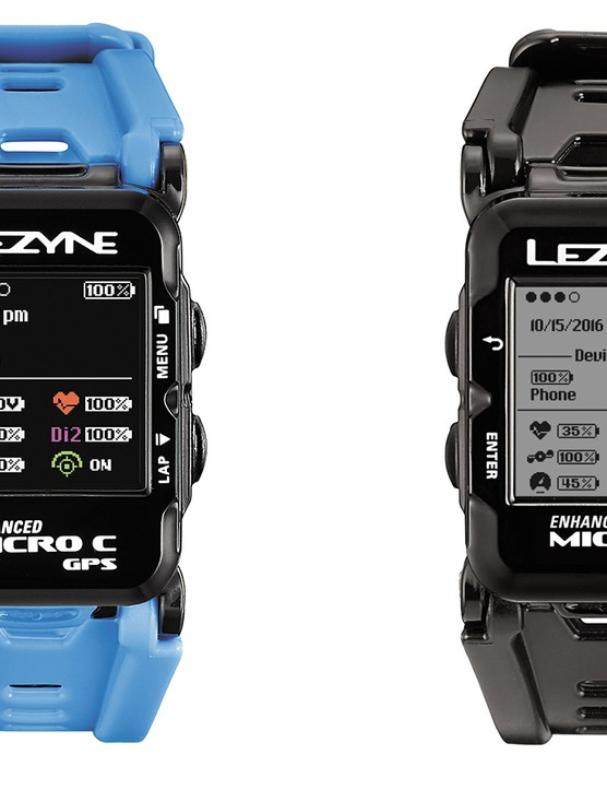 The Micro GPS watch is essentially a Micro GPS computer with a rubber wrist band and multi-sport activity modes