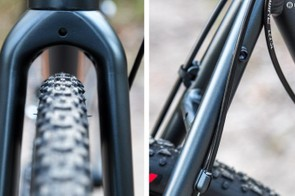Rack mounts and knobby tires allow 'cross bikes to be extremely versatile