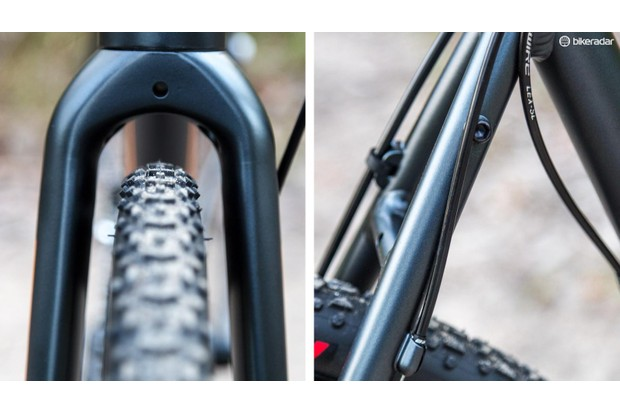 Rack mounts and knobby tyres allow 'cross bikes to be extremely versatile