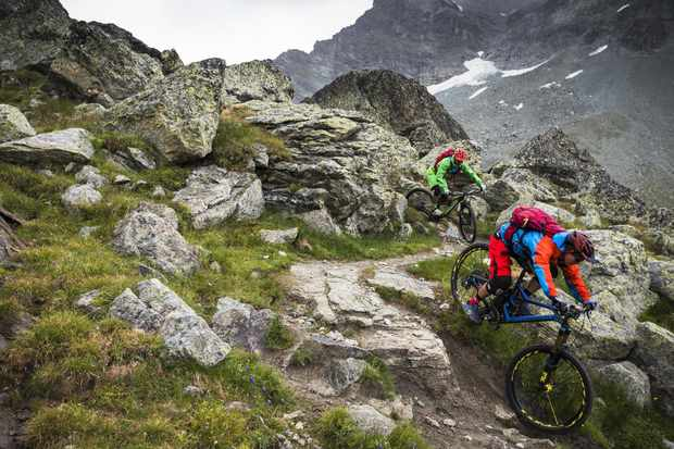 Enduro bikes need to be ready to take on the toughest descents