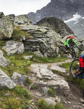 Enduro bikes need to be ready to take on the toughest descents