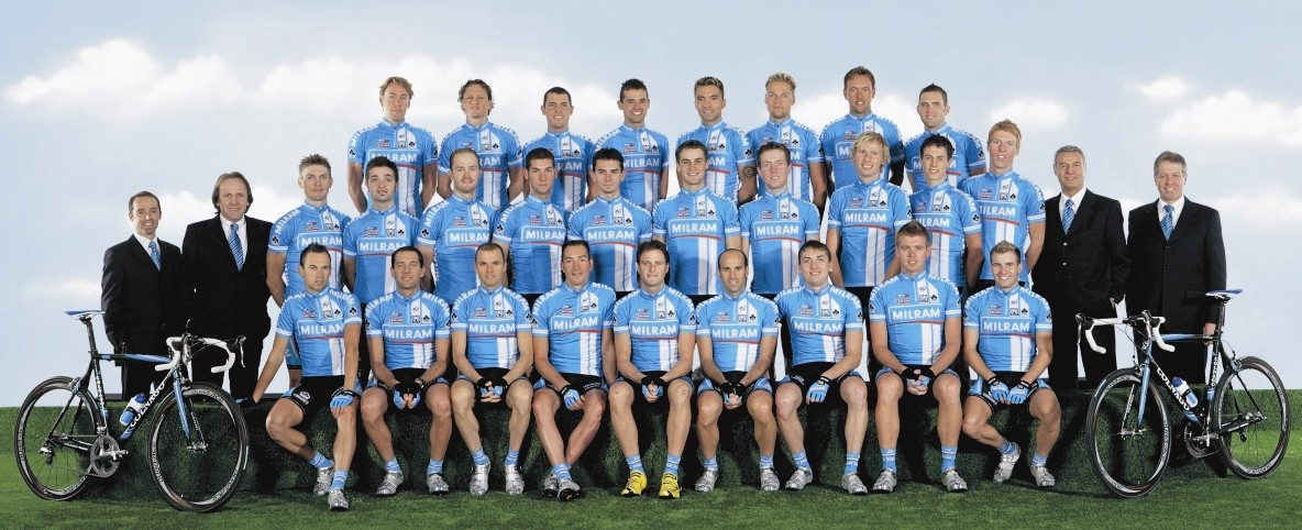 The new Team Milram line-up has just been announced