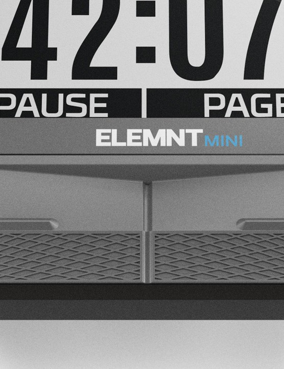 While the Elemnt is a full-function standalone computer, the Elemnt Mini requires a paired smartphone for full capability