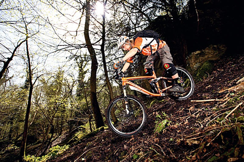 Mini downhill race in the Forest of Dean