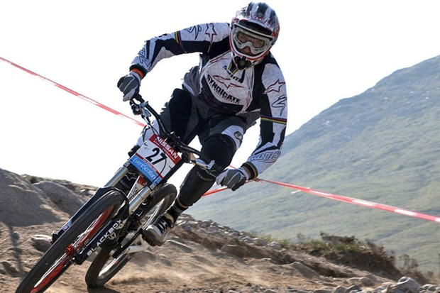 Minnaar races in Fort William