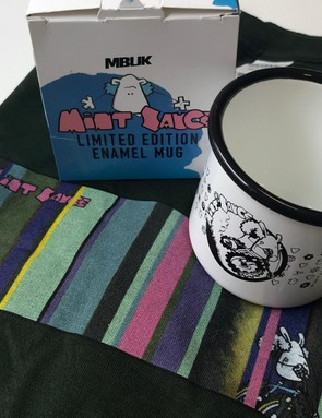 Get your limited edition Mint Sauce mug and t-shirt at the Fort William DH World Cup