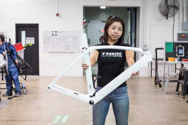 """It doesn't take much to lift others up,"" says Mio Suzuki, aerodynamics analysis engineer at Trek"