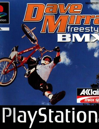 Dave Mirra BMX was the reason why BikeRadar's Oli didn't do better in school